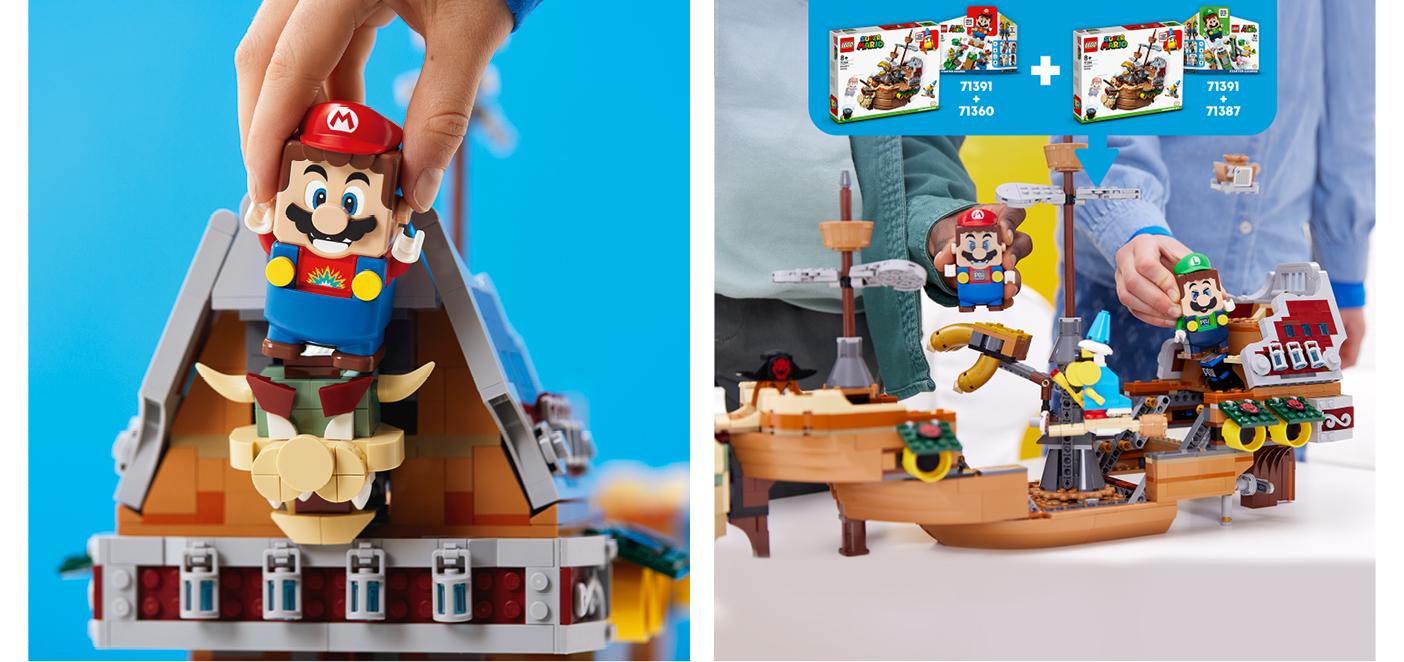 LEGO® Bowsers Luftschiff – Erweiterungsset